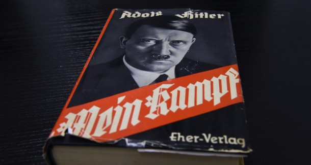 Mein Kampf, photo AFP