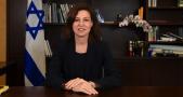 portrait ambassadrice Israël Aliza Bin-Noun