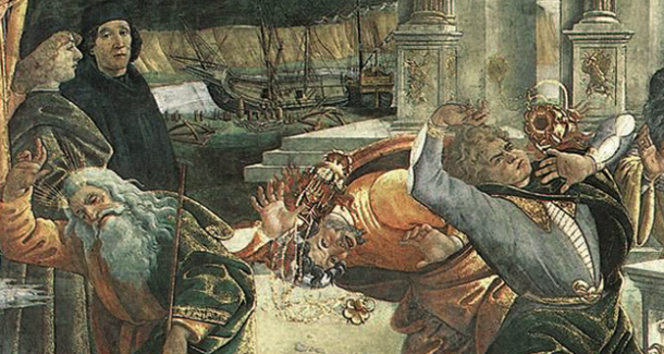 Koré châtiment Boticelli